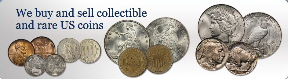 Buy and Sell collectibles and rare coins.